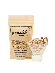 Vegan Mix Granola 250gr - Granolife